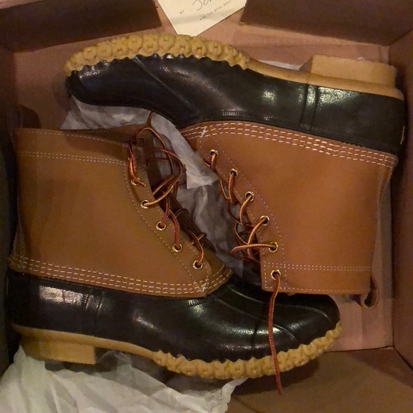 f173d040570 NWT 8 inch Thinsulate men's Bean boots size 10M
